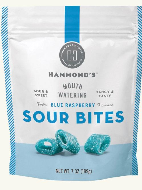 Blue Raspberry Sour Bites by Hammond's Candie