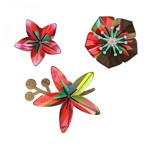 Tropical Breeze Flower Trio by MIHO Unexpected Things
