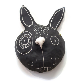 Critter Mask by Oxide Pottery
