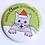 Thumbnail: Santa Claws Pin by Tiny Bee