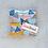 Thumbnail: Organic Lavendar Sachets in Watercolor Shapes