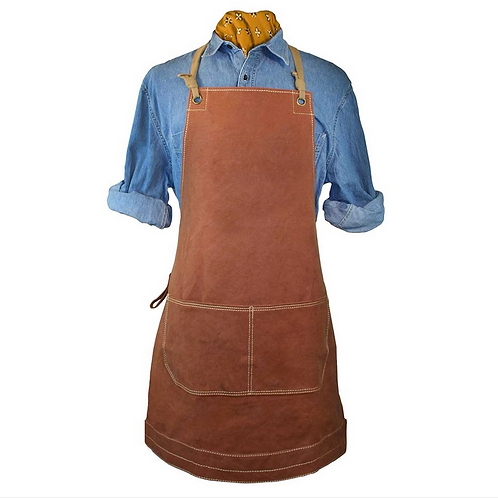 Canvas Apron in Toast by Trixie & Milo