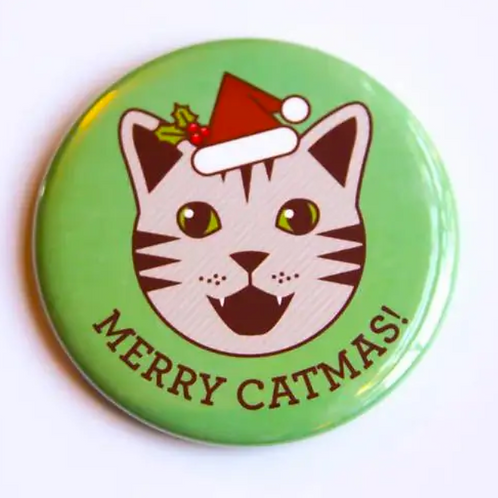 Merry Catmas! Pin by Tiny Bee