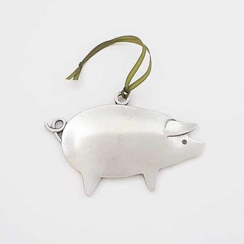 Pig Ornament by Beehive Handmade