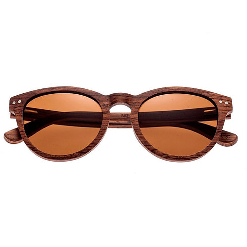 Copacabana Red rose Wood Cateye Sunglasses by Earth Wood