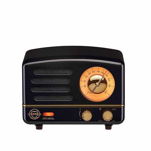 Muzen OTR Metal Radio - Jet Black