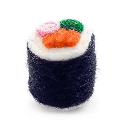 California Roll Sushi Cat Toy by Foggy Dog