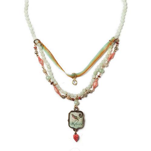 Summer Sea Necklace by Elements Jill Schwartz