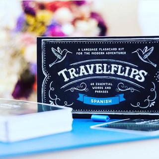 Travel Flips Language Cards