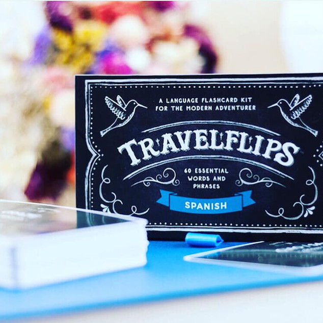 Travel Flips Language Cards