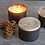 Thumbnail: Sweet Balsam Three-Wick Candle by Skeem Design