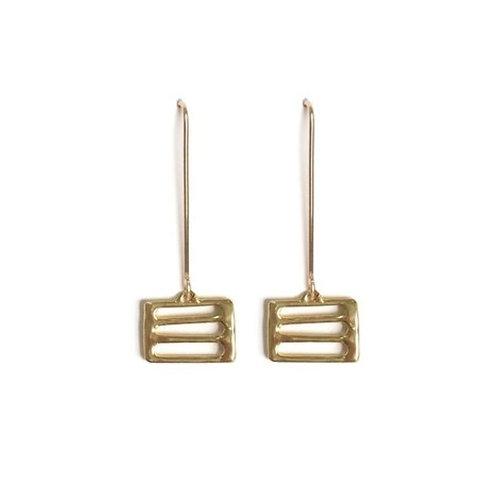 Delphi Earrings by Goldeluxe Jewelry