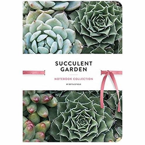 Succulent Garden: Notebook Collection
