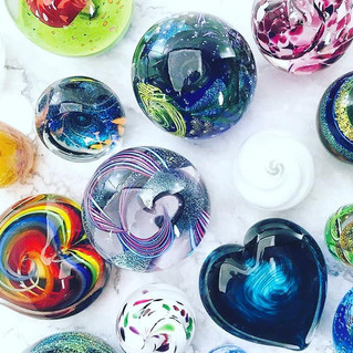 Paperweights by Glass Eye