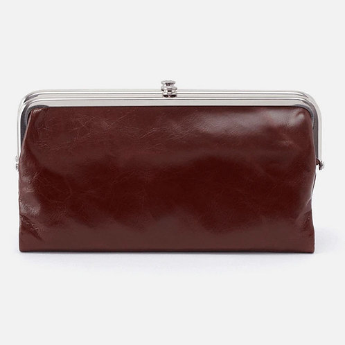Lauren Clutch in Chocolate by HOBO