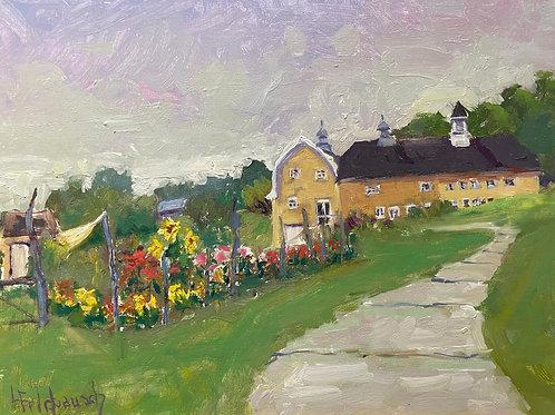 'Historic Barn -- The Commons' by Lori Feldpausch