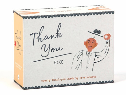Thank You Box: Notecards