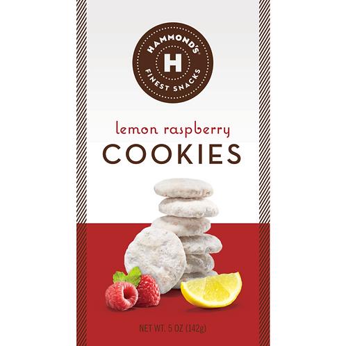 Lemon Raspberry Cookies by Hammond's Candies