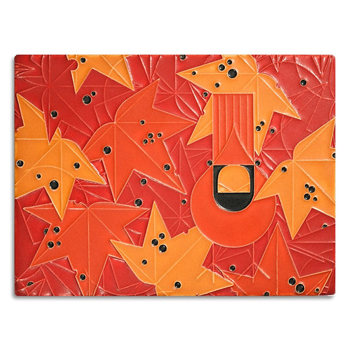 6x8 Under the Sweetgum by Charley Harper for Motawi Tileworks