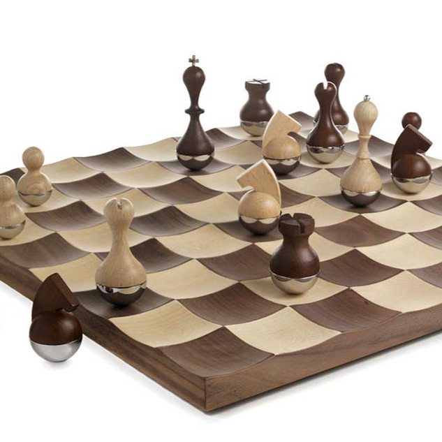 Chess Set by Umbra Studio