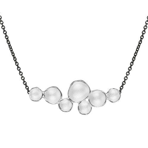 Medium Cloud Pendant on Oxi Chain by Sarah Richardson