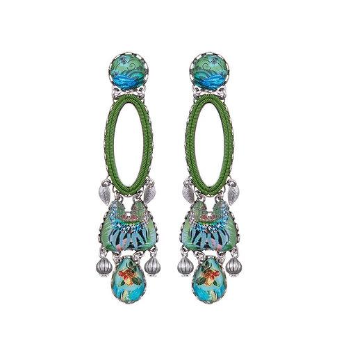 Sweet Leaf Musica Earrings by Ayala Bar R1368