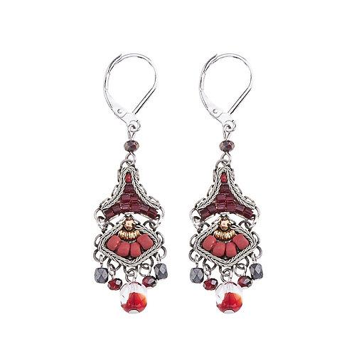 Ruby Love Earrings by Ayala Bar C1428