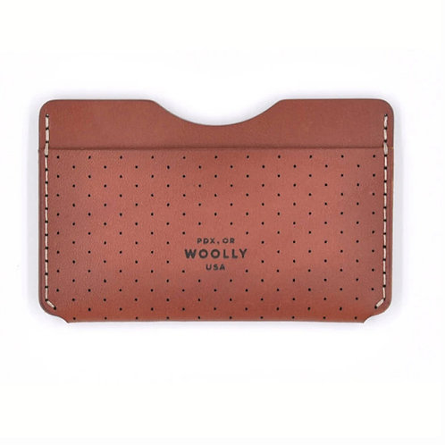 Slim Leather Wallets by Woolly Made