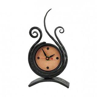 Desk Clock by Blackthorne Forge