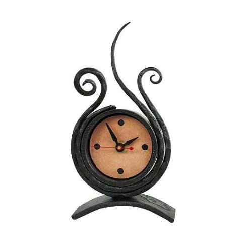 Desk Clock by Blackthorne Forge