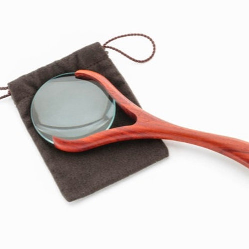 Wooden Handle Magnifying Glass by Davin & Kesler