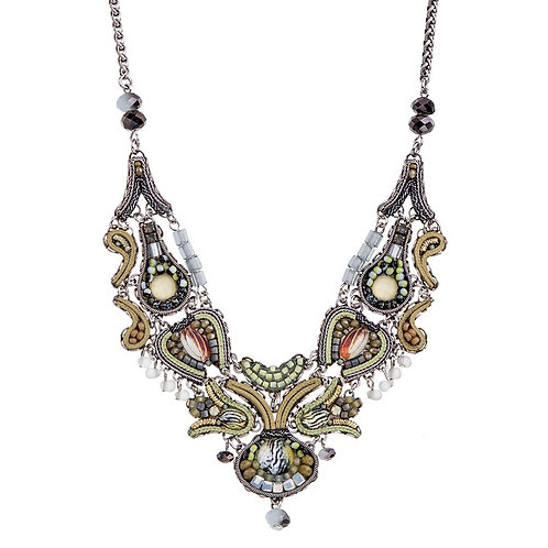 Leah Necklace C3205 - Autumn Leaves by Ayala Bar