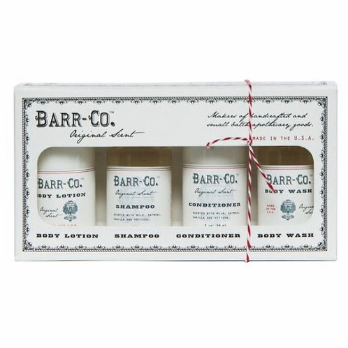Barr-Co. Original Scent Bath and Body Gift Set