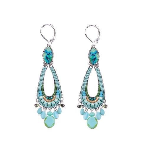 Clear Water Cleo Earrings by Ayala Bar C1286