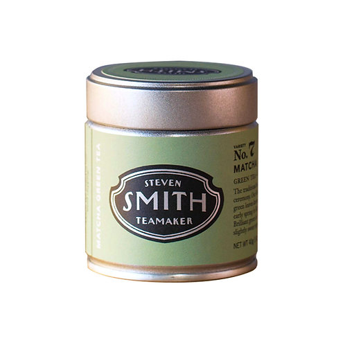 40G Matcha Tin by Smith Teamakers
