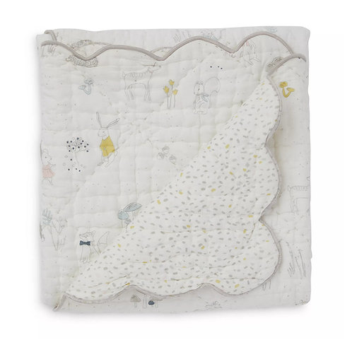 Magical Forest Cotton Blanket by Pehr