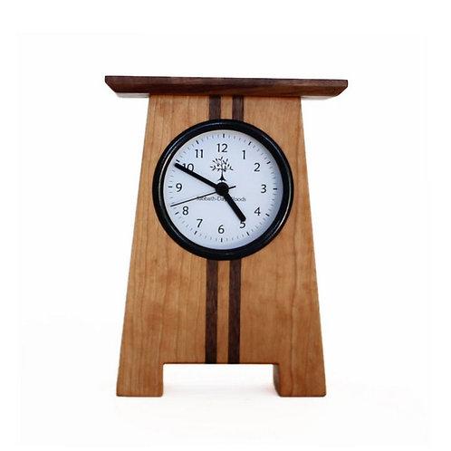 Asheville Craftsman Desk Clock by Sabbath Day Woods
