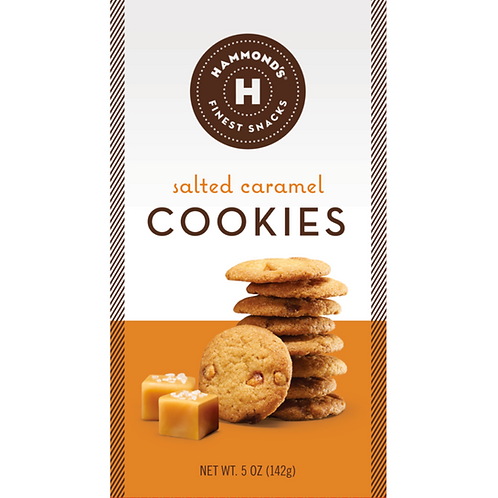 Salted Caramel Cookies by Hammond's Candies