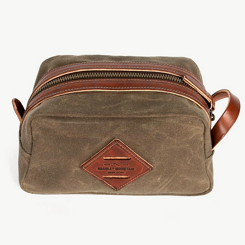 Dopp Kit in Field Tan by Bradley Mountain