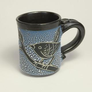 Ceramic Mug by Barbara Prodaniuk