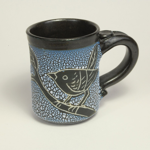 Ceramic Mug by Barbara Prodaniuk