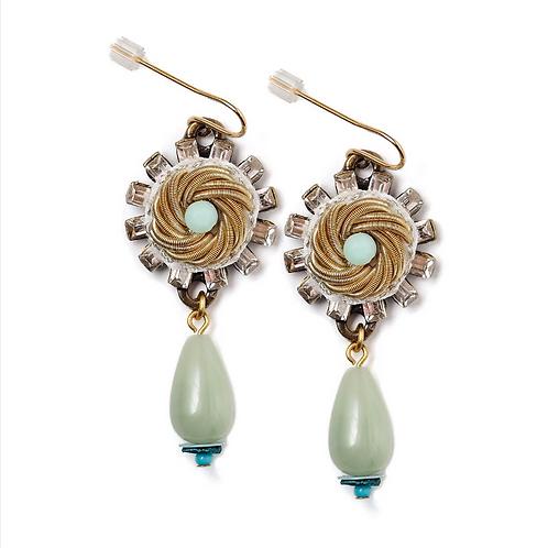 Mermaid's Crown Earrings by Elements Jill Schwartz