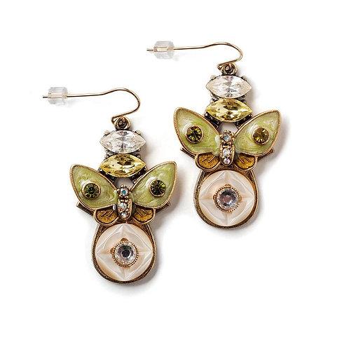 Butterfly Earrings by Elements Jill Schwartz