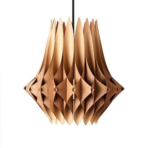 Vector Series Teak Swag Pendant Lamp