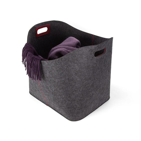 Large Felt Like It Basket by Three by Three in Cactus