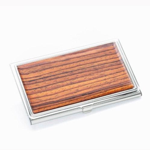 Wood Business Card Case by Davin & Kesler