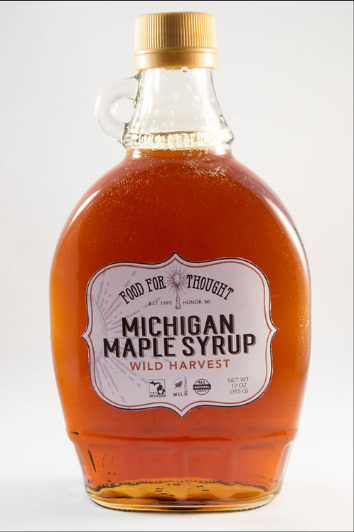 Wild Harvest Michigan Maple Syrup by Food For Thought