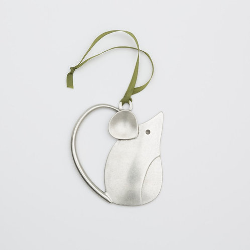 Mouse Ornament by Beehive Handmade