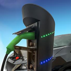 Elektomos autó töltőállomás