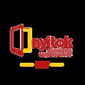 """A """"Nyitok"""" azaz a Nyitott Tanulási Központok Hálózatának logója"""
